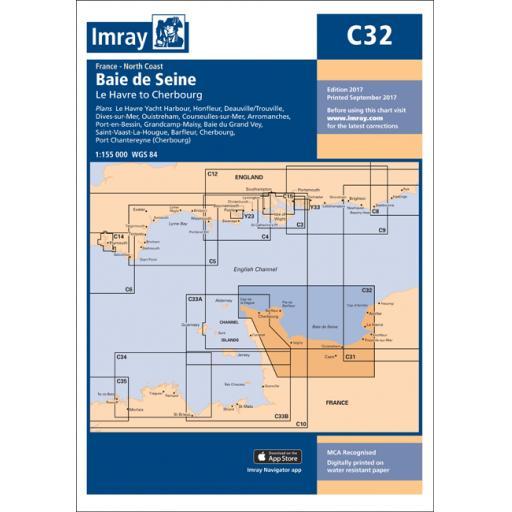 Imray C Series: C32 Baie de Seine