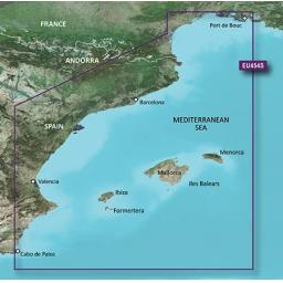 Garmin BlueChart g3 Vision VEU454S-Barcelona and Valencia