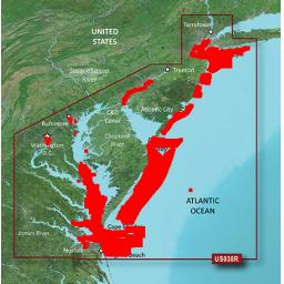Garmin BlueChart g3 Vision VUS038R-New York-New Jersey to Chesapeake