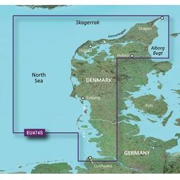 Garmin BlueChart g3 Vision VEU474S-Northern Denmark and the Eider
