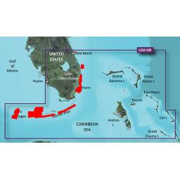 Garmin BlueChart g3 Vision VUS010R-Southeast Florida and Bahamas