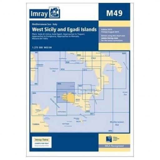 Imray M Series: M49 West Sicily and Egadi Islands