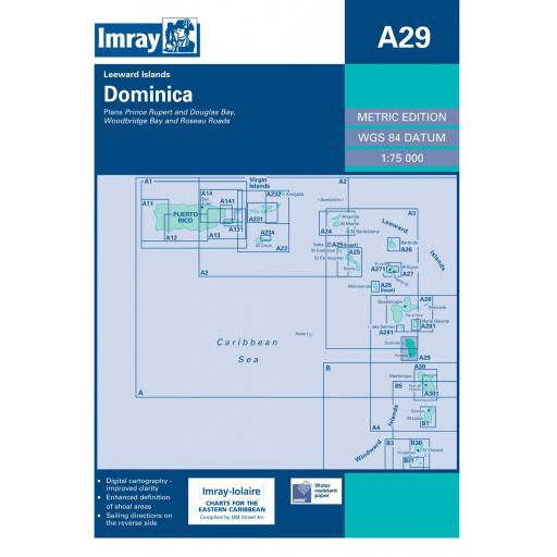 Imray A Series: A29 Dominica