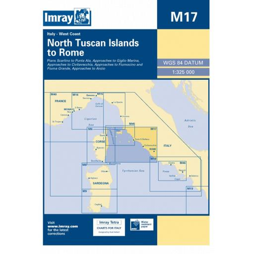 Imray M Series: M17 North Tuscan Islands to Rome