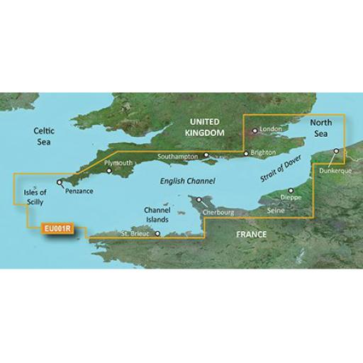 Garmin BlueChart g3 / g3 Vision VEU001R-English Channel