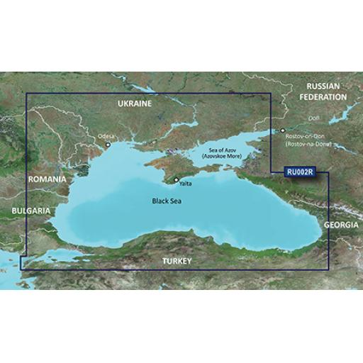 Garmin BlueChart g3 Vision VEU063R-Black Sea & Azov Sea