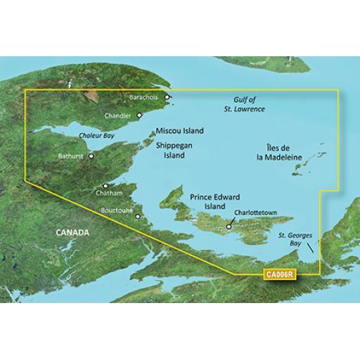 Garmin BlueChart g3 Vision VCA006R-P.E.I-Chaleur Bay