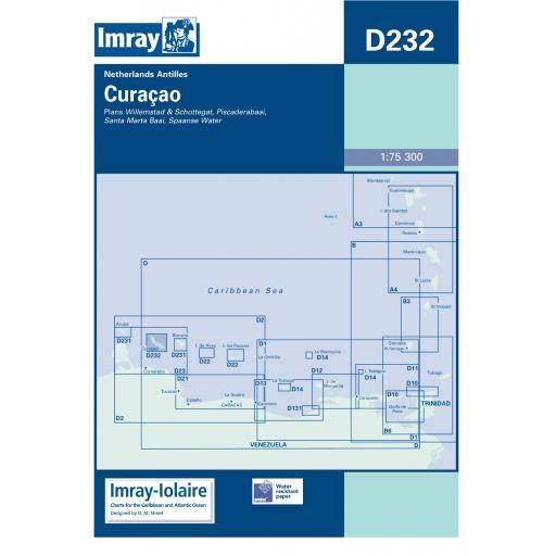 Imray D Series Charts: D232 Curaçao