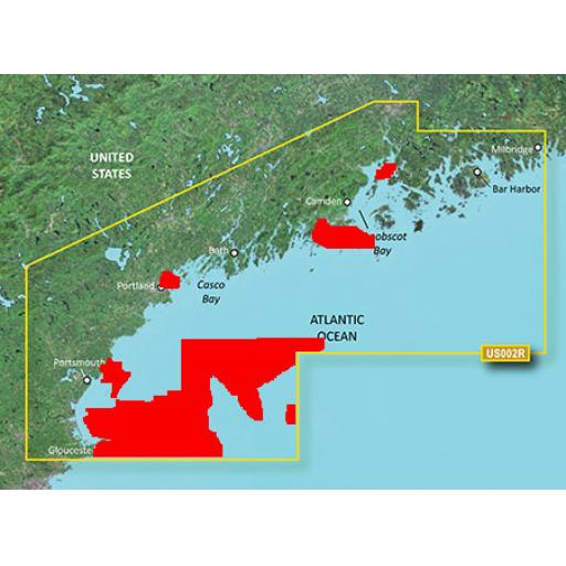 Garmin BlueChart g3 Vision VUS002R-South Maine