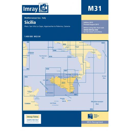 Imray M Series: M31 Sicily