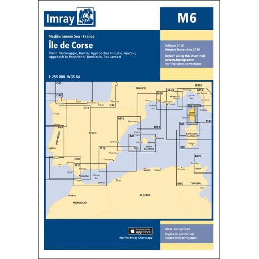 Imray M Series: M6 Île de Corse
