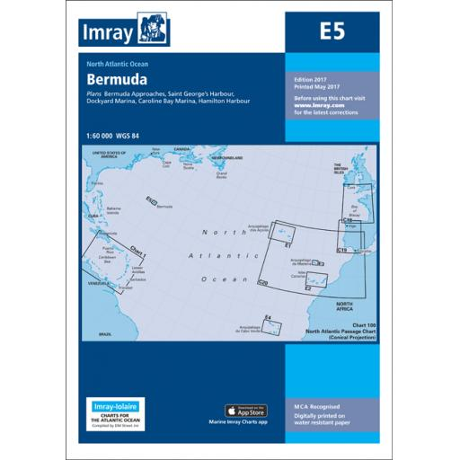 Imray E Series: E5 Bermuda