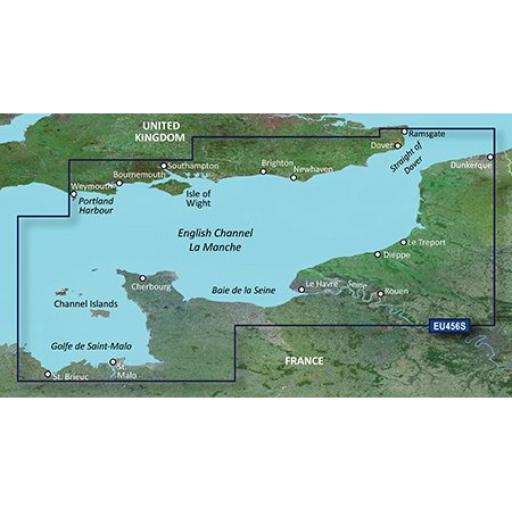 Garmin BlueChart g3 Vision VEU456S-English Channel, Central-East