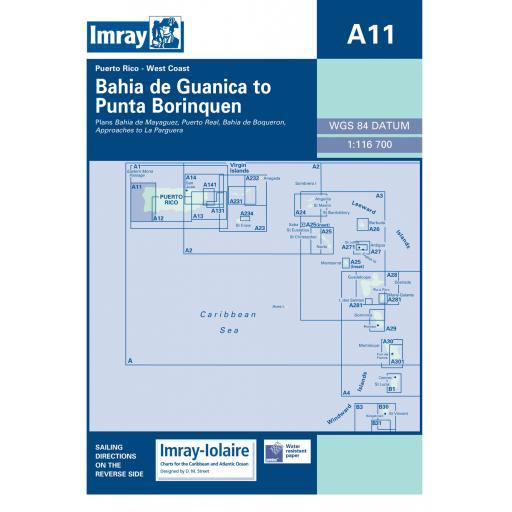 Imray A Series: A11 Bahia de Guanica to Punta Borinquen