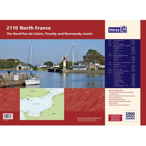 Imray 2000 Series: 2110 North France Chart Atlas