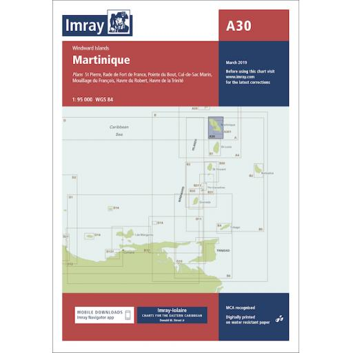 Imray A Series: A30 Martinique