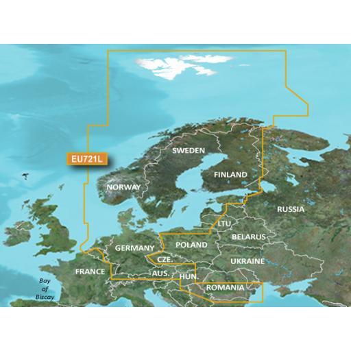 Garmin BlueChart g3 Vision VEU721L-Northern Europe