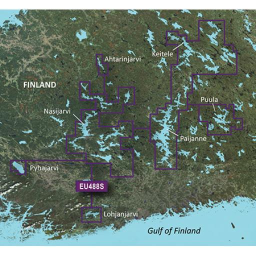 Garmin BlueChart g3 Vision VEU488S-Keitele-Paijanne-Tampere