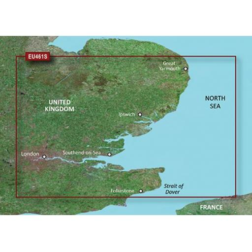 Garmin BlueChart g3 Vision VEU461S-Thames Estuary