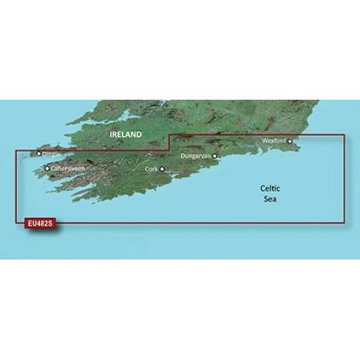 Garmin BlueChart g3 Vision VEU482S-Wexford to Dingle Bay