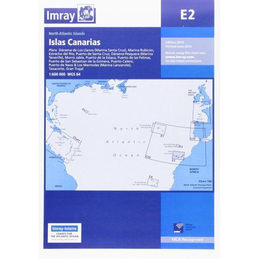 Imray E Series: E2 Islas Canarias