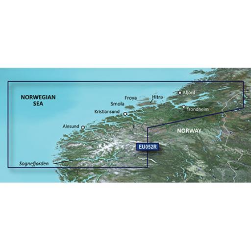 Garmin BlueChart g3 / g3 Vision VEU052R-Sognefjorden - Svefjorden