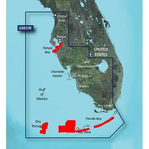 Garmin BlueChart g3 Vision VUS011R-Southwest Florida