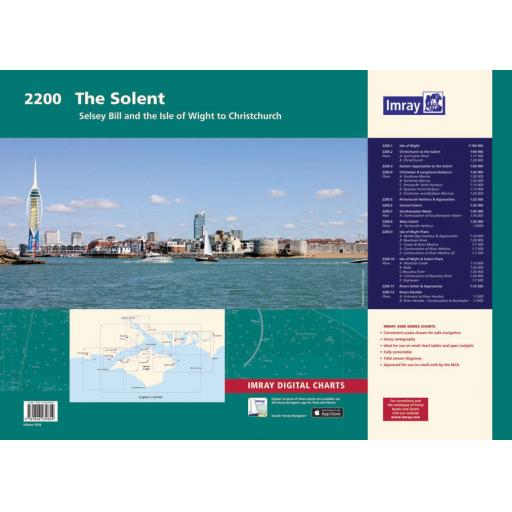 Imray 2000 Series: 2200 Solent Chart Pack