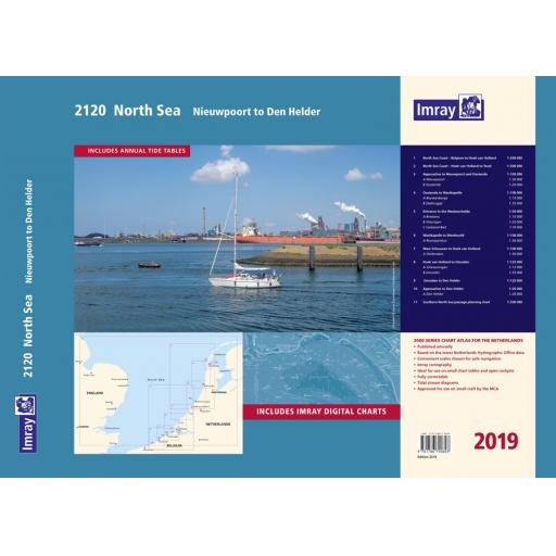 Imray 2000 Series: 2120 North Sea - Nieuwpoort to Den Helder Chart Atlas