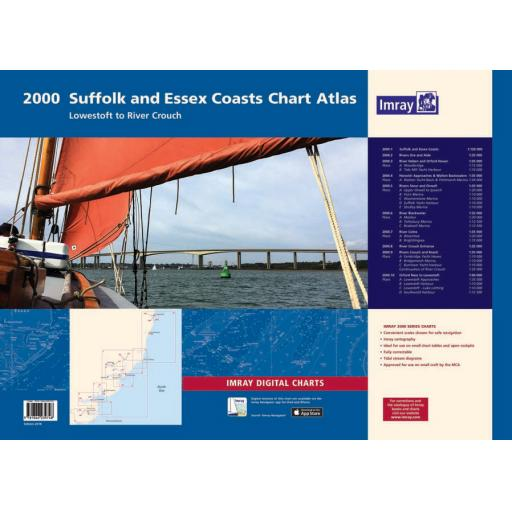 Imray 2000 Series: 2000 Suffolk and Essex Chart Atlas