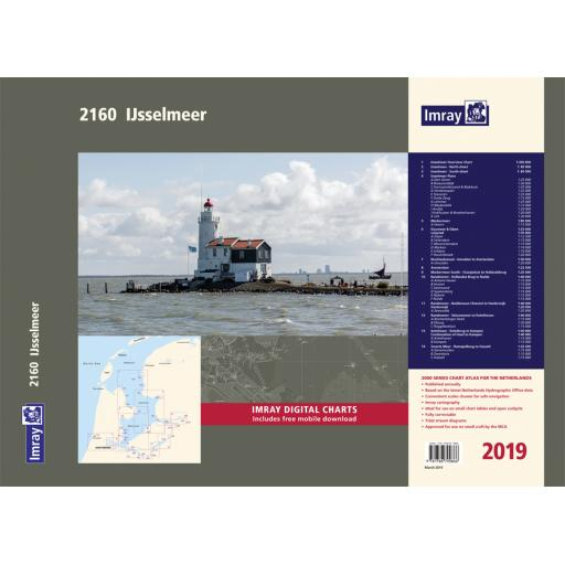 Imray 2000 Series: 2160 IJsselmeer Chart Atlas