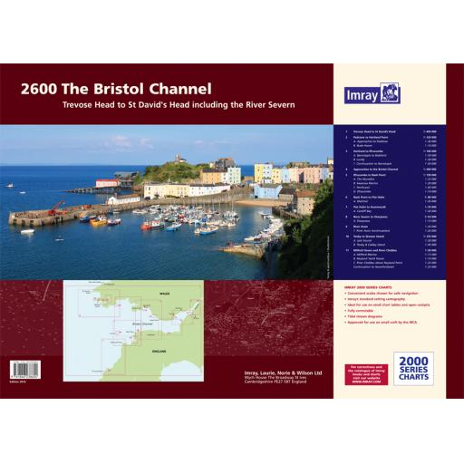 Imray 2000 Series: 2600 Bristol Channel Chart Atlas