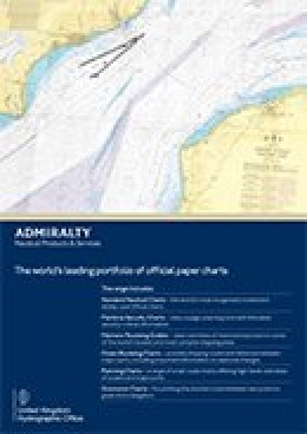 ADMIRALTY Paper Charts brochure