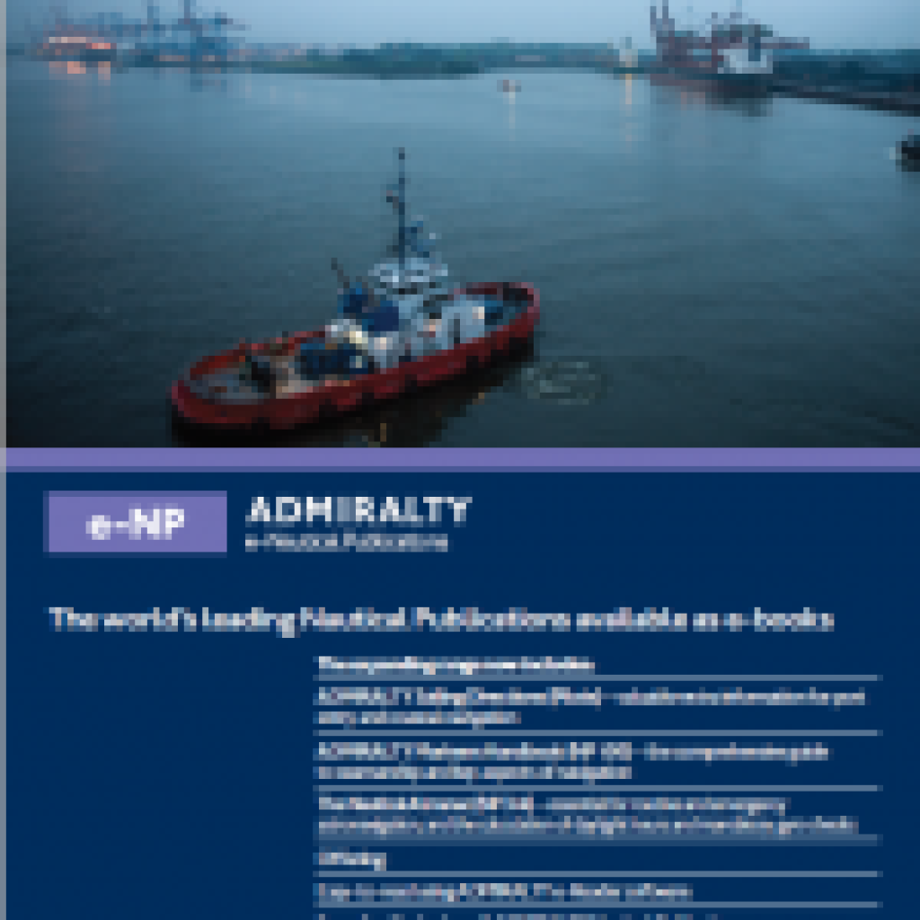 ADMIRALTY e-Nautical Publications brochure